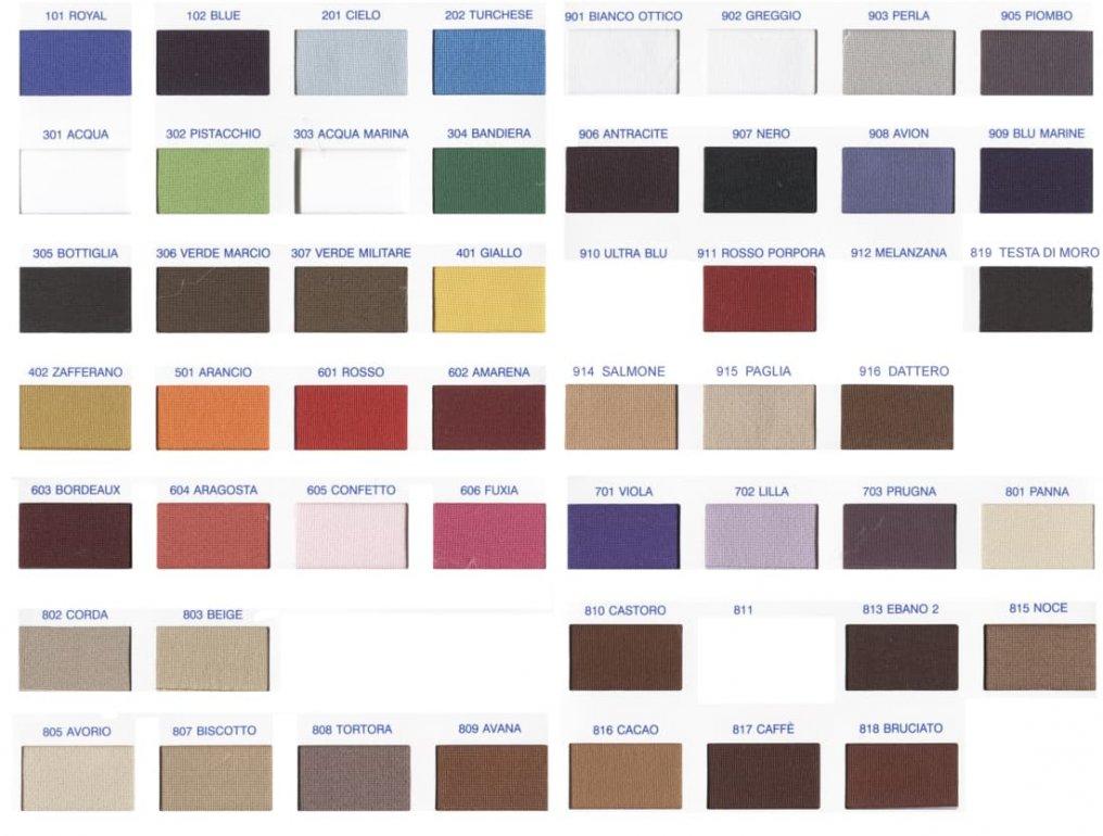 Thumbnail cartella colori elastico 810